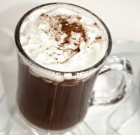 Heiße Schokolade mit Amaretto